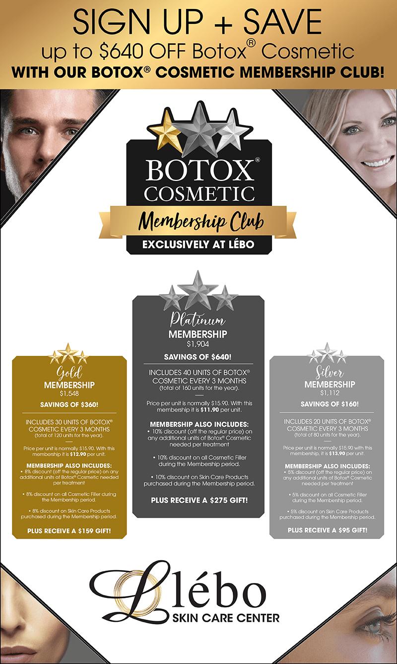 Botox Savings